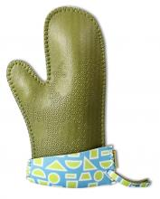 FoamEra Mitts - Geometric Green